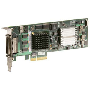 ATTO UL5D Dual Channel ULTRA320 SCSI RAID Controller - PCI Express x4 - Up to 320MBps Per Channel - 2 x 68-pin VHDCI Ultra320 SCSI - SCSI External
