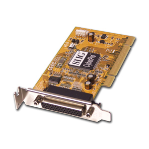 SIIG LP-P01011-S6 Parallel Adapter - 1 x 25-pin DB-25 Male IEEE 1284 Parallel