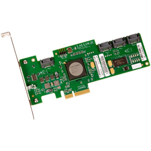 LSI Logic LSISAS3041E-R 4 Port SAS RAID Controller - Up to 300MBps Per Port - 4 x 7-pin Serial ATA/300 - Serial ATA Internal