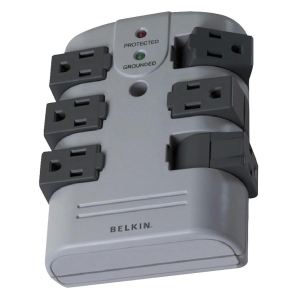 Belkin 6-Outlets Surge Suppressor - 6 x AC Power - 1080 J