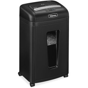 Fellowes Powershred 450Ms Micro-Cut Shredder - Micro Cut - 7 Per Pass - 5.50 gal Waste Capacity