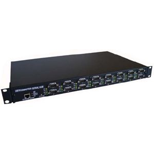 Comtrol DeviceMaster 16-Port Serial Hub - 16 x DB-9 , 1 x RJ-45