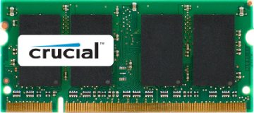 Crucial 2GB DDR2 SDRAM Memory Module - 2GB (1 x 2GB) - 667MHz DDR2-667/PC2-5300 - Non-ECC - DDR2 SDRAM - 200-pin