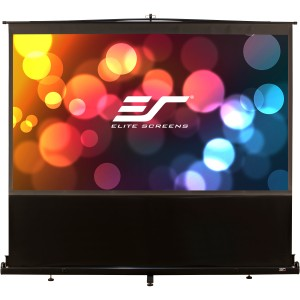 "Elite Screens ezCinema Portable Projection Screen - 60"" x 80"" - Matte White - 100"" Diagonal"
