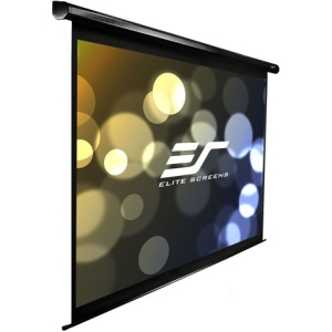 "Elite Screens VMAX113UWS2 Electric Projection Screen - 80"" x 80"" - Matte White - 113"" Diagonal"