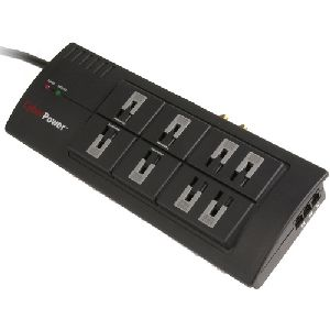 CyberPower 880 8-Outlet Surge Suppressor - 2800 Joules 15A RJ11/Coax EMI/RFI