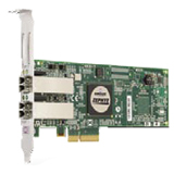 EMC LightPulse LPE11002-E Fibre Channel Host Bus Adapter - 2 x FC - PCI Express - 4Gbps