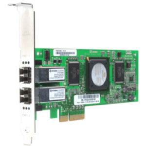 EMC SANblade QLE2462 Dual Port Fiber Channel Host Bus Adapter - 2 x LC - PCI Express x4 - 4.24Gbps