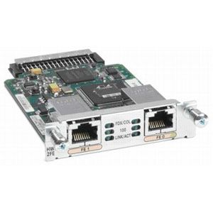 Cisco 2-Port Fast Ethernet High-Speed WIC - 2 x 10/100Base-TX
