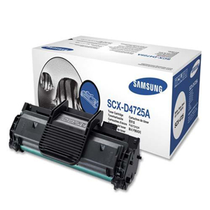 Samsung SCX-D4725A Black Toner Cartridge - Laser - 3000 Page - Black