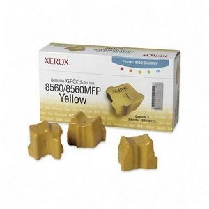 Xerox Yellow Solid Ink Sticks - Yellow - Solid Ink - 3 / Box