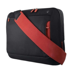 "Belkin Carrying Case (Messenger) for 17"" Notebook - Cabernet - Polyester"