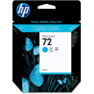 HP 72 Vivera Cyan Ink Cartridge - Cyan - Inkjet - 1 Each