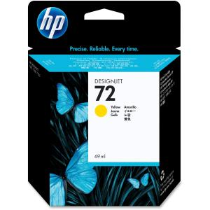 HP 72 Yellow Ink Cartridge - Yellow - Inkjet - 1 Each