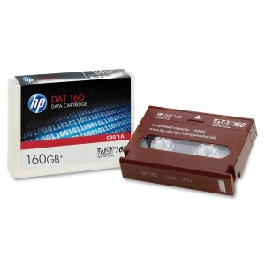 HP DAT 160 Tape Cartridge - DAT - DAT 160 - 80 GB (Native) / 160 GB (Compressed)