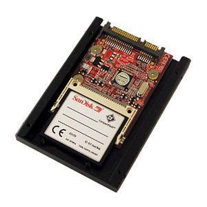 Addonics CF-SATA HDD Adapter - CompactFlash Adapter - CompactFlash Type I, CompactFlash Type II