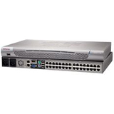 Raritan Dominion DKX2-132 32-Ports KVM Switch - 32 x 1, 1 - 32 x RJ-45 Keyboard/Mouse/Video - 1U - Rack-mountable
