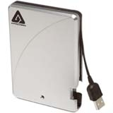 "Apricorn Aegis 250 GB 2.5"" External Hard Drive - USB 2.0 - 5400 rpm - 8 MB Buffer"