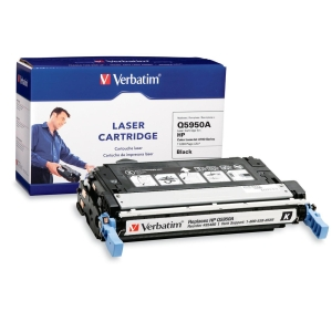 Verbatim HP Q5950A Compatible Black Toner Cartridge (4700) - Black - Laser - 11000 Page - OEM