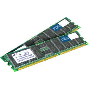 AddOn - Memory Upgrades FACTORY ORIGINAL 8GB KIT 2X4G DDR2-400MHz RDIMM - 400MHz DDR2-400/PC2-3200 - ECC - Registered - 240-pin DIMM