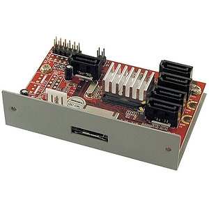 Addonics AD5SARPM-E 5X1 eSATA Port Multiplier - 5 x 7-pin   Serial ATA/300 Serial ATA