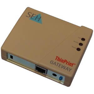 SEH ThinPrint Gateway TPG120 Print Server - 1 x 10/100Base-TX - 10Mbps, 100Mbps