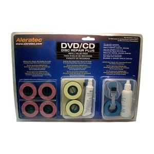 Aleratec DVD/CD Repair Plus Refill Value Pack - Optical Media