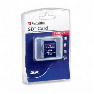 Verbatim 95407 2 GB Secure Digital (SD) Card - 1 Card/1 Pack