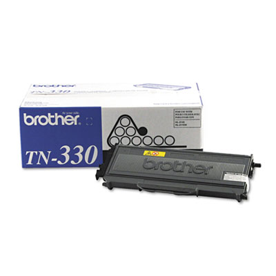 Brother TN330 Toner Cartridge - Black - Laser - 1500 Page - 1 Each