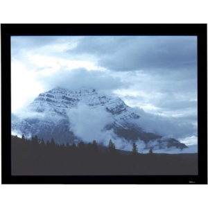 Draper Onyx Fixed Frame Projection Screen - 52&quot; x 92&quot; - HiDef Grey - 106&quot; Diagonal
