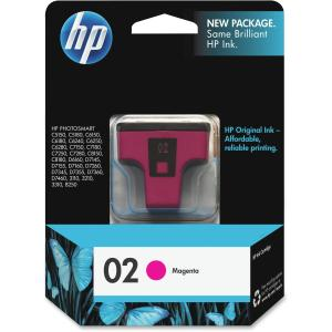 HP 02 Ink Cartridge - Magenta - Inkjet - 370 Page