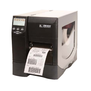 Zebra ZM400 Thermal Label Printer - 10 in/s Mono - 203 dpi - Serial, Parallel, USB - Fast Ethernet