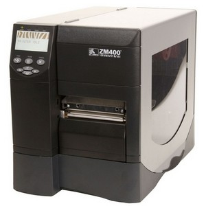 Zebra ZM400 Thermal Label Printer - 8 in/s Mono - 300 dpi - USB, Serial, Parallel