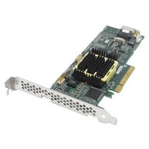 Adaptec 5405 4 Port Serial ATA/SAS RAID Controller - 256MB DDR2 - PCI Express x8 - Up to 300MBps Per Port - 1 x SFF-8087 SAS 300 - Serial Attached SCSI Internal