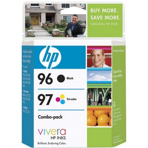 HP 96 / 97 Black and Tri-color Ink Cartridges - Black, Color - Inkjet - 860 Page Black, 560 Page Color - Retail