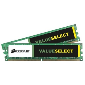 Corsair Value Select 4GB DDR2 SDRAM Memory Module - 4GB (2 x 2GB) - 667MHz DDR2-667/PC2-5300 - DDR2 SDRAM - 240-pin DIMM