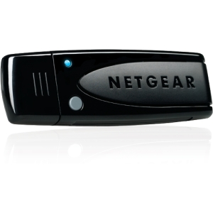 Netgear RangeMax Dual Band Wireless-N USB 2.0 Adapter - USB - 300Mbps