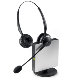 GN GN9125 Duo Flex Headset - Wireless Connectivity - Stereo - Over-the-head, Over-the-ear (Headset Only)
