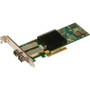 Atto CTFC-82EN-000 Fibre Channel Host Bus Adapter - 2 x LC - PCI Express 2.0 - 8Gbps