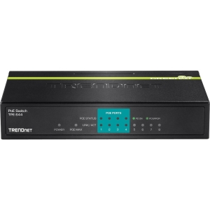 TRENDnet TPE-S44 Fast Ethernet Switch - PoE Ports