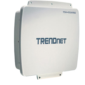 TRENDnet 14dBi Wireless Outdoor PoE Access Point - 108Mbps
