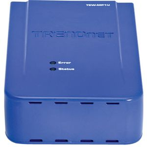 TRENDnet Wireless 1-Port Multi-Function Print Server - 10/100Base-TX Network - Wi-Fi - IEEE 802.11b/g - External