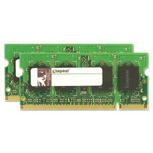 Kingston 4GB DDR2 SDRAM Memory Module - 4GB (2 x 2GB) - 800MHz DDR2-800/PC2-6400 - DDR2 SDRAM - 200-pin SoDIMM