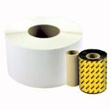 Wasp Barcode Label - 1.5&quot; Width x 1&quot; Length - 5560/Roll - 4 Roll