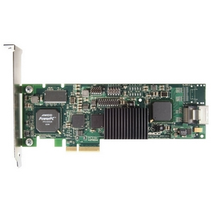 3ware 9650SE-4LPML 4 Port Serial ATA RAID Controller - 256MB ECC DDR2 - PCI Express x4 - Up to 300MBps - 1 x SATA x4 Serial ATA/300 - Serial ATA