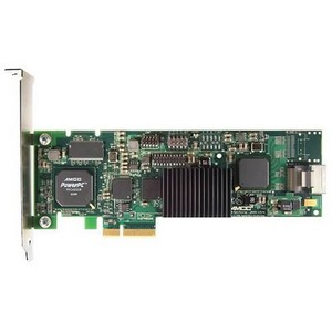 3ware 9650SE-8LPML 8 Port Serial ATA RAID Controller - 256MB  ECC  DDR2 - PCI Express x4 - Up to 300MBps  - 2 x  SATA x4  Serial ATA/300 - Serial ATA