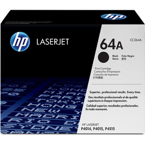 HP 64A Black Toner Cartridge - Black - Laser - 10000 Page - 1 Each