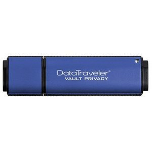 Kingston 16GB DataTraveler Vault Privacy Edition USB 2.0 External Flash Drive