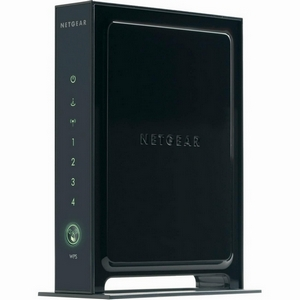 Netgear - WNR2000 Wireless-N Router - 4 x 10/100Base-TX LAN, 1 x WAN