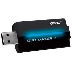 KWorld DVD Maker 2 Video Capture Device - USB - PAL, NTSC